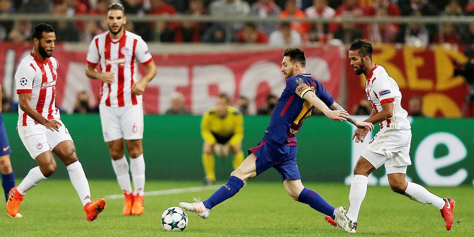 «Ювентус» потерял очки в Лиссабоне, «Барса» не сумела обыграть «Олимпиакос»