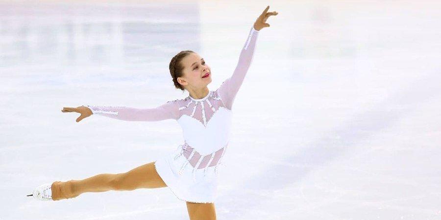 Фигуристка одержала победу в финале Кубка Петра Великого, исполнив четверной тулуп