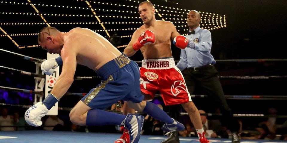 Ковалев нокаутировал Шабранского и стал чемпионом WBO. Нокауты выходных в онлайне «Матч ТВ»