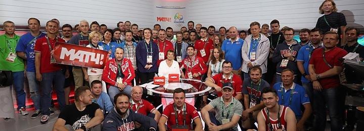 Как выглядит студия «Матч ТВ» в Рио