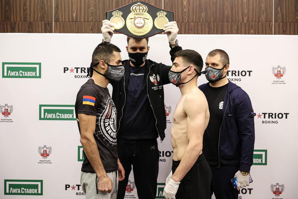 Агрба победил Диланяна в бою за титул WBA Continental