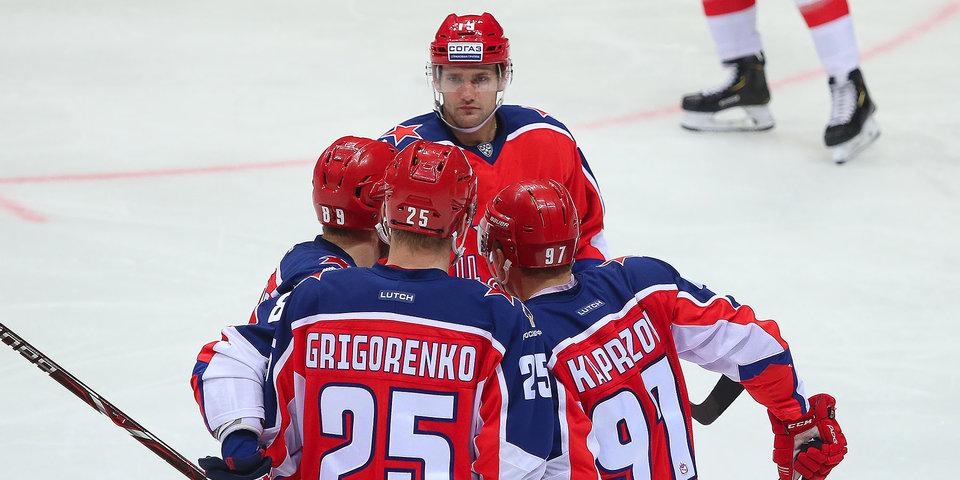 ЦСКА разгромил «Динамо», одержав 10-ю победу подряд