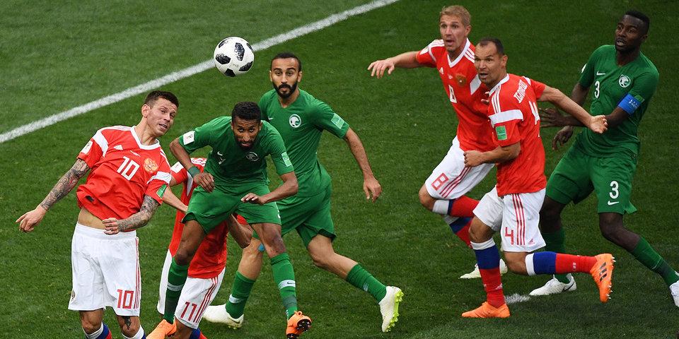 Футбольная федерация Саудовской Аравии опровергла слухи о наказании игроков после поражения от России