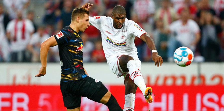 «Кельн» сыграл вничью с «Лейпцигом» в чемпионате Германии