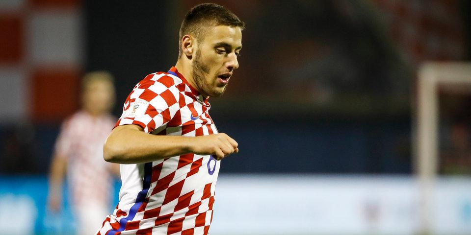 Сборная Хорватии сыграла вничью с Англией на молодежном чемпионате Европы, Влашич забил гол и получил травму