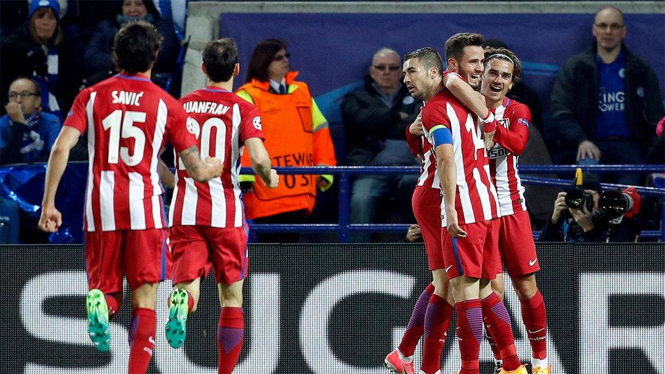 «Атлетико» вышел в полуфинал Лиги чемпионов