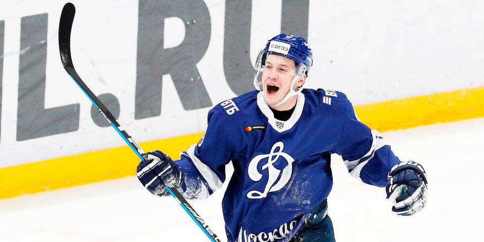 Кагарлицкий стал игроком дня в КХЛ