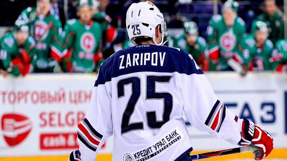 Гарипов – лучший вратарь второго раунда Кубка Гагарина, Зарипов – лучший нападающий