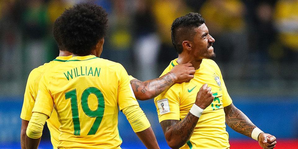 Бразильцы оставили сборную Сербии без плей-офф