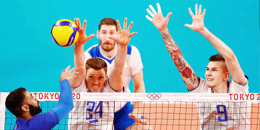 Российские волейболисты уступили Франции и потерпели первое поражение на Олимпиаде в Токио