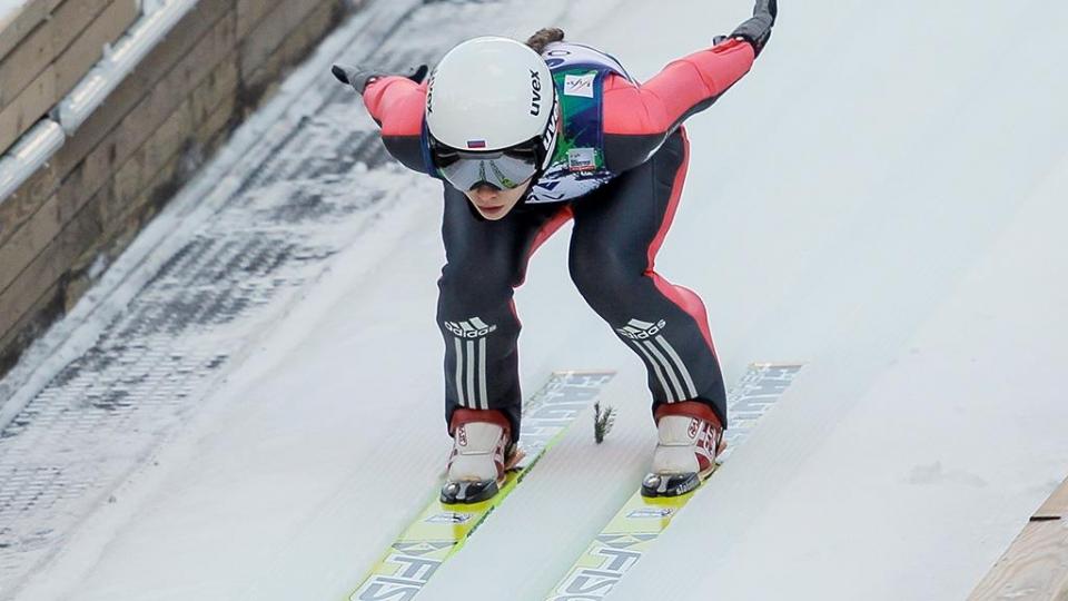 Россиянки стали шестыми в командных соревнованиях в прыжках с трамплина на ЧМ
