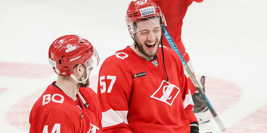 «Спартак» вновь обыграл СКА, Капризов возглавил снайперскую гонку, Дацюк распрощался с Матчем звезд. Итоги недели КХЛ