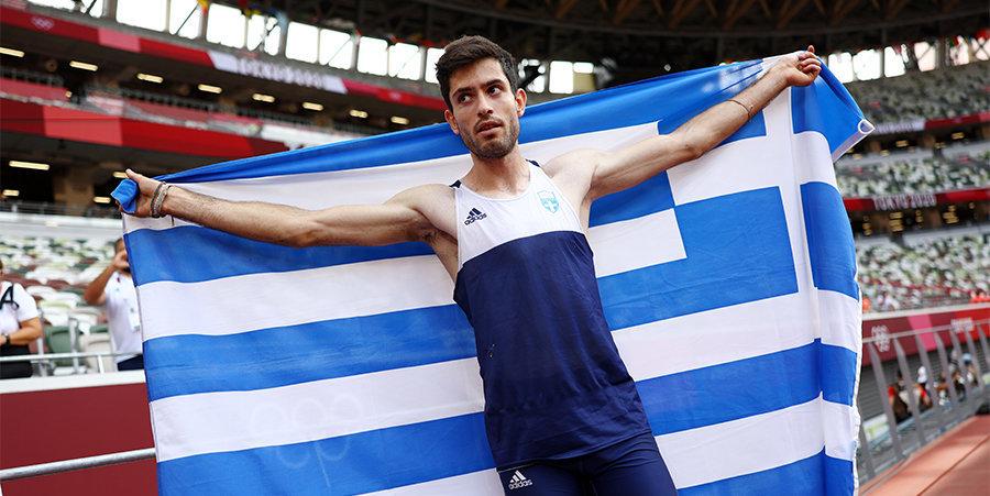 Грек Тентоглу выиграл золото Олимпиады в Токио в прыжках в длину