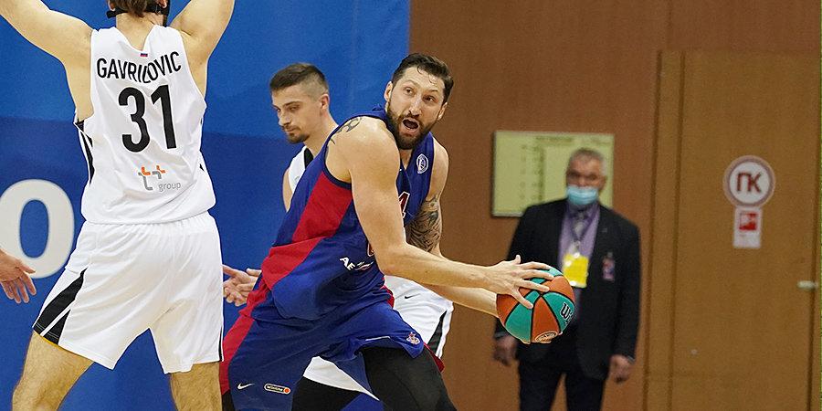 ЦСКА разгромил «Нижний Новгород» в первом четвертьфинальном матче Единой лиги
