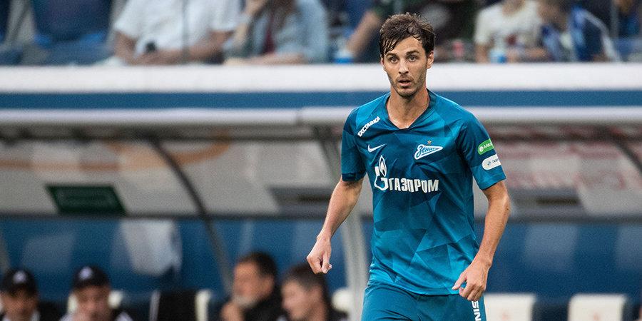 Ерохин признан лучшим игроком матча «Зенит» — «Сочи»