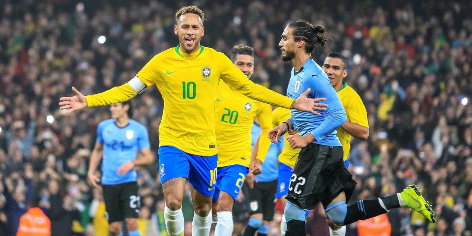 Кавани призвал не переоценивать значение его перепалки с Неймаром в конце матча Бразилия — Уругвай