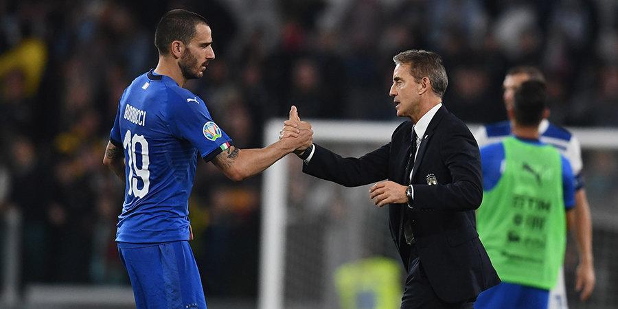Италия обыграла Грецию и досрочно квалифицировалась на Евро-2020