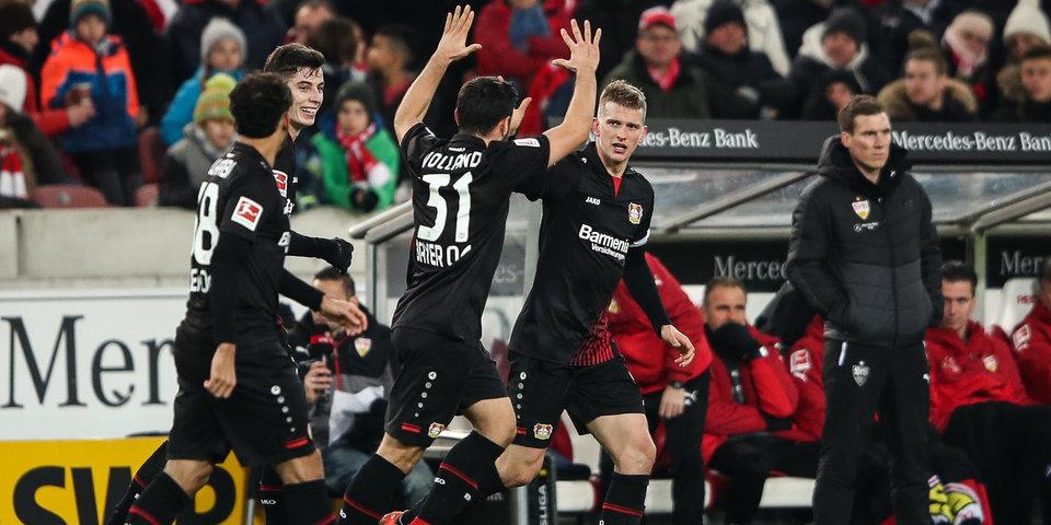«Байер» нанес «Штутгарту» первое домашнее поражение в сезоне
