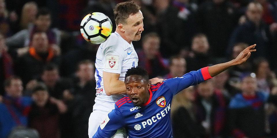 Муса не пожал руку Гончаренко после замены. ЦСКА проиграл «Динамо»