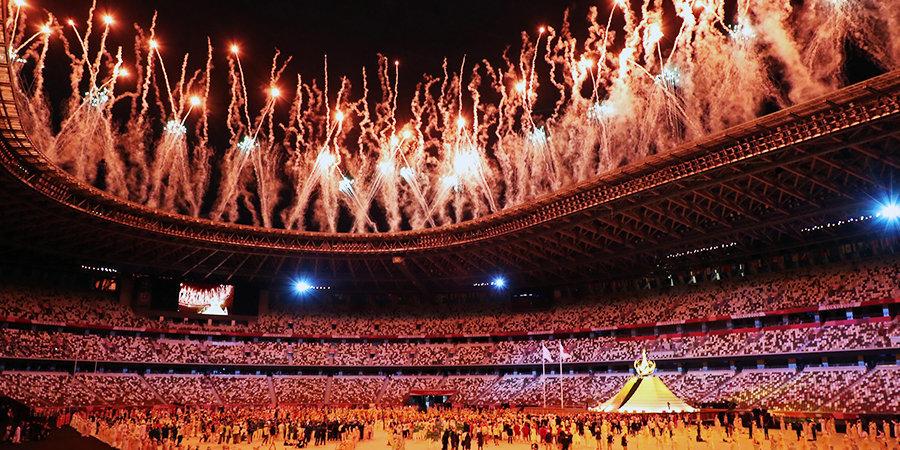 Спортсменов больше, чем людей на трибунах! Лучшие кадры церемонии открытия Олимпийских игр в Токио