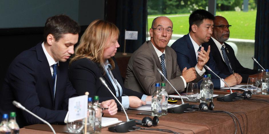 Оргкомитет Универсиады в Красноярске отчитался перед FISU