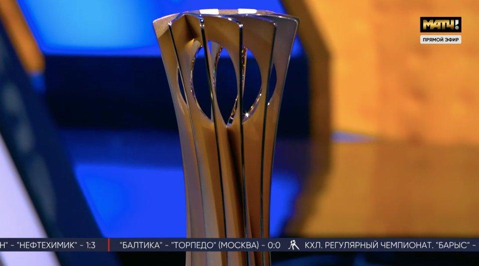 Меньше чем через год в России пройдет ЧМ по волейболу. Трофей турнира и глава оргкомитета — в студии «Все на Матч!»