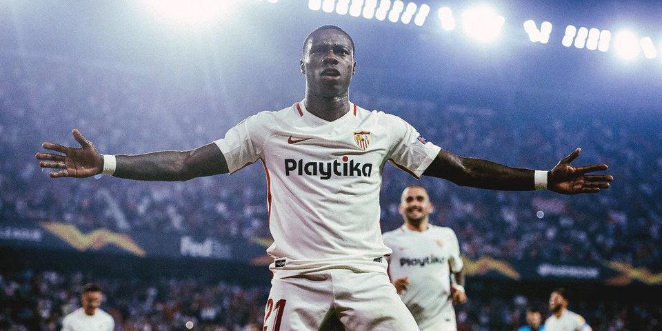 Промес забил дебютный мяч за «Севилью» и вынудил вратаря соперника на автогол. Видео