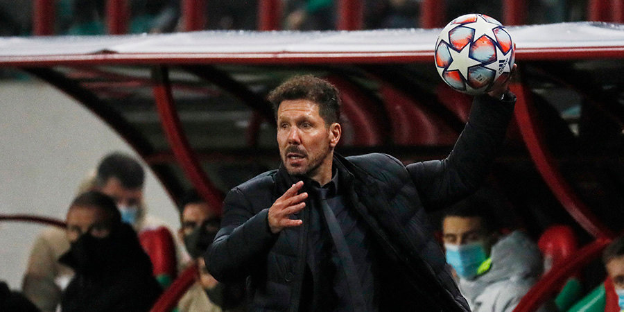 Диего Симеоне: «Попробуем играть с «Миланом» через их слабые места»