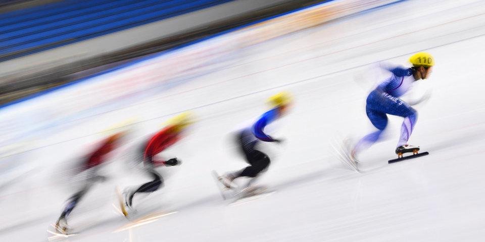 Милованов и Захарова победили на всероссийском чемпионате студентов по шорт-треку