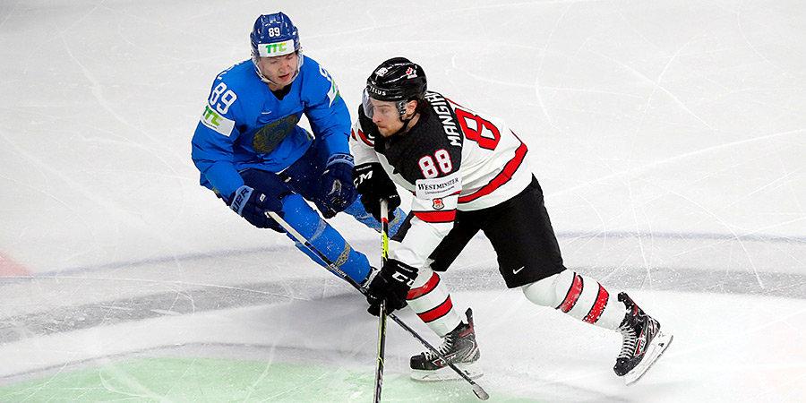 Канада обыграла Казахстан на чемпионате мира. Швеция победила Великобританию