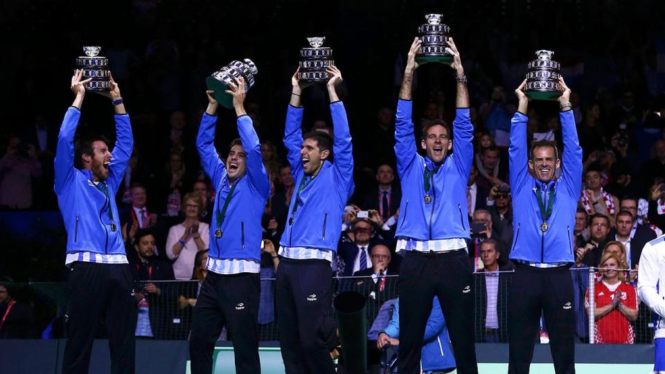 Аргентинцы впервые в истории выиграли Кубок Дэвиса