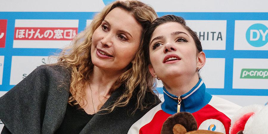 Штаб Медведевой надеется, что фигуристка выступит на этапе Кубка России в Москве