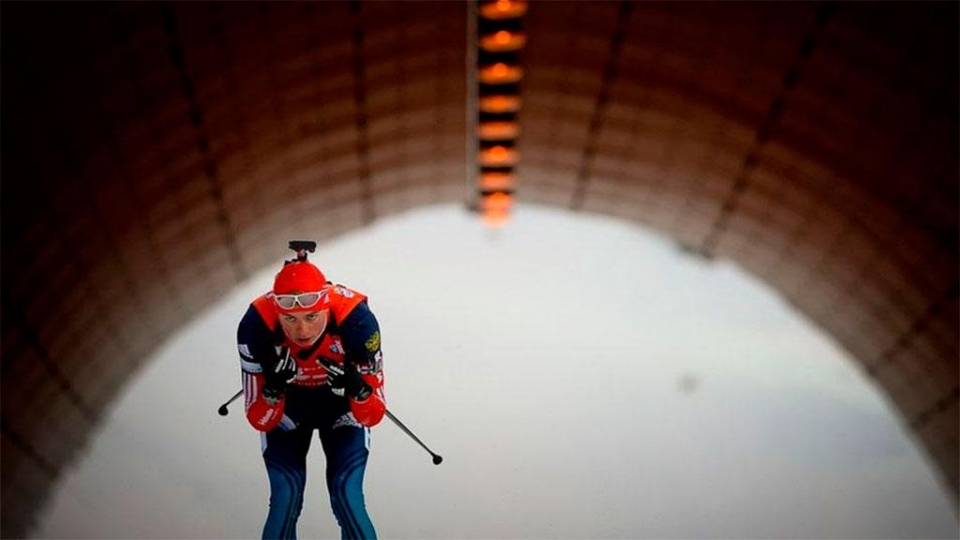 Бабиков показал третью скорость в гонке преследования