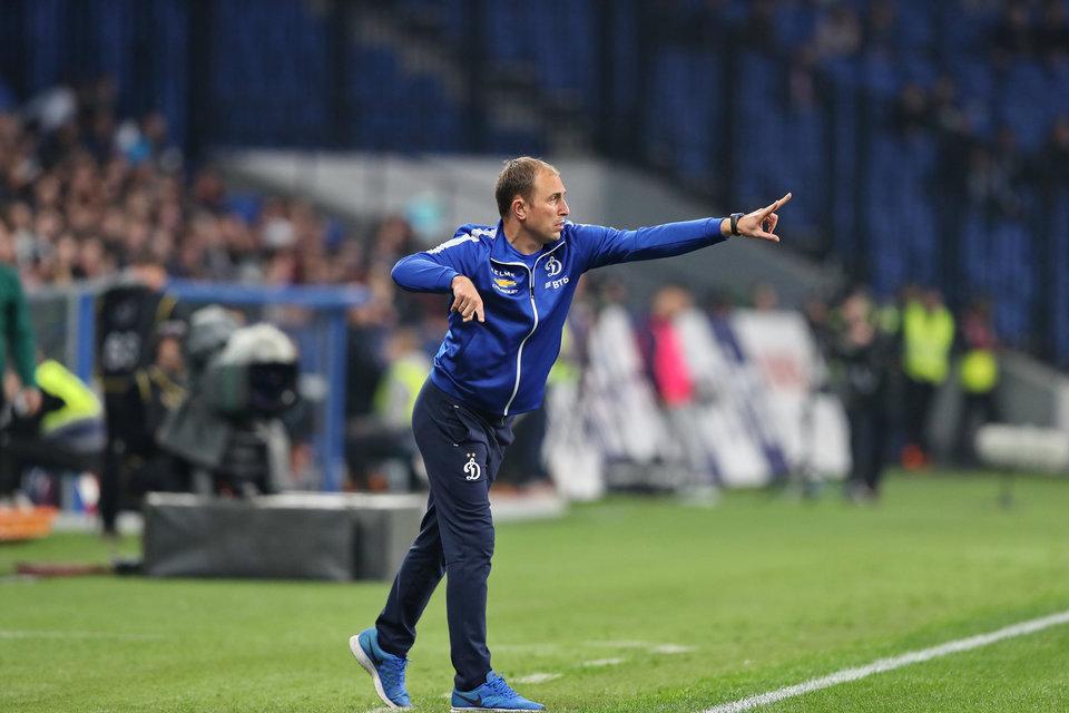 «Динамо» объявило о назначении Новикова на пост главного тренера