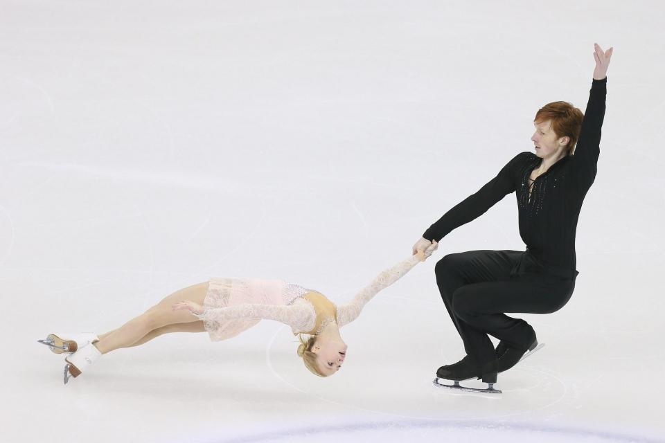 Тарасова и Морозов — серебряные призеры Гран-при во Франции