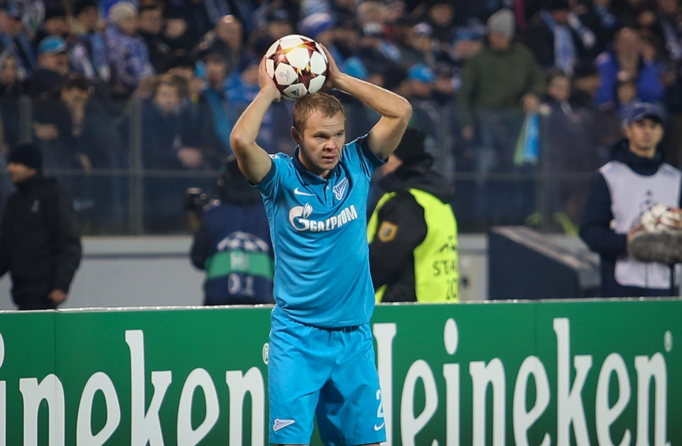 Анюков — лучший игрок «Зенита» в октябре