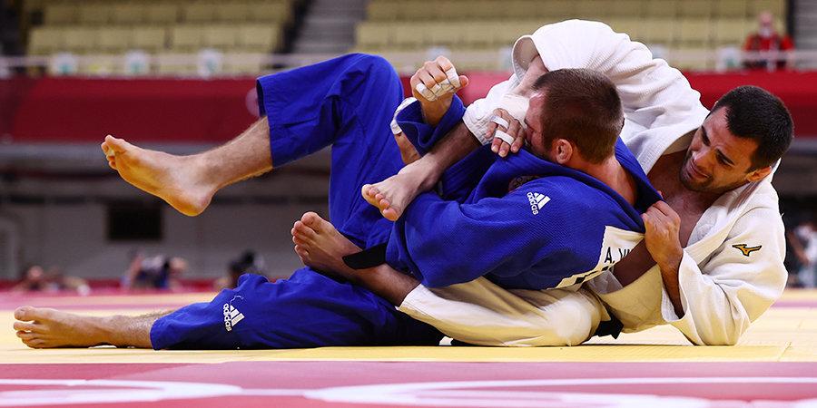 Хубецов — в четвертьфинале олимпийского турнира по дзюдо