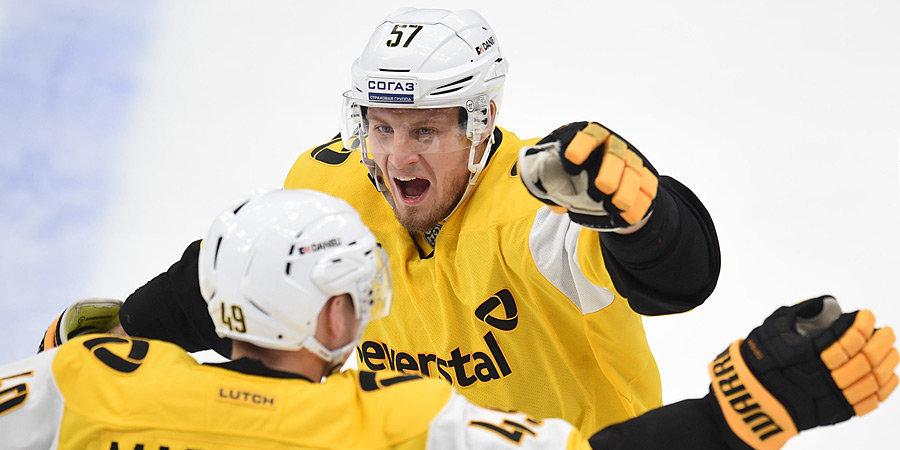 Минское «Динамо» проиграло «Северстали» и потерпело пятое поражение подряд в КХЛ