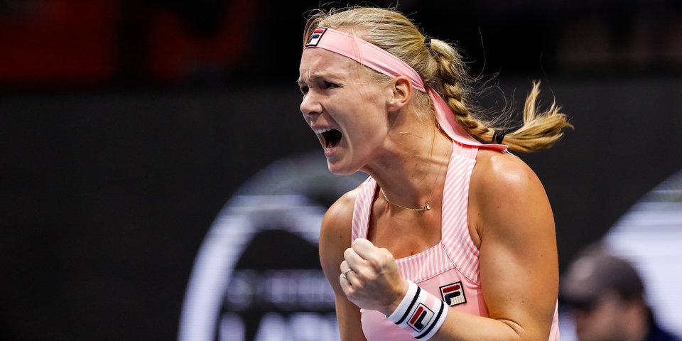 Риске отыграла 5 матчболов и обыграла Бертенс в финале турнира WTA в Нидерландах