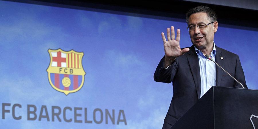 Глава Ла Лиги: «Бартомеу подтвердил свое невежество в футбольной индустрии. Печальный конец президента «Барселоны»