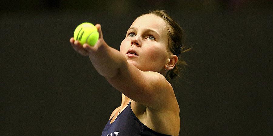 Кудерметова пробилась в следующий круг турнира в США