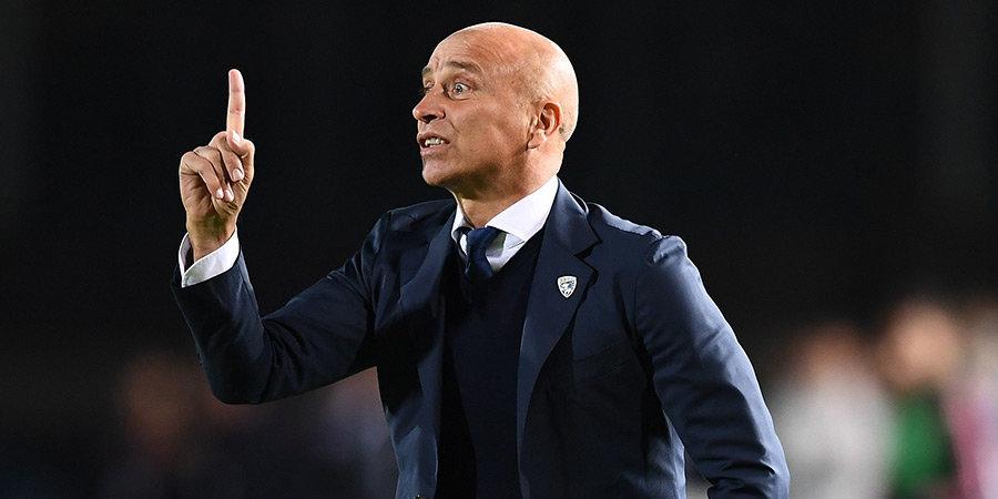 «Брешиа» вернула бывшего тренера менее чем через месяц после увольнения