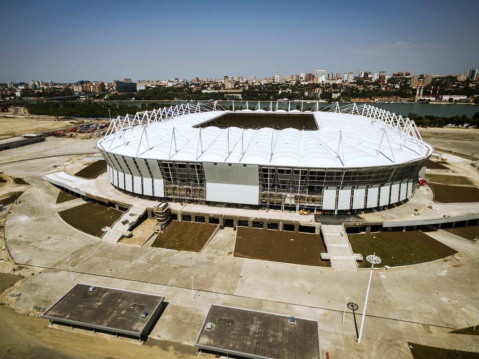 Завершено строительство стадиона к ЧМ-2018 в Ростове