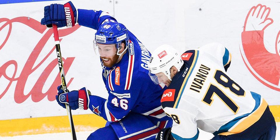 СКА потерпел первое поражение в сезоне