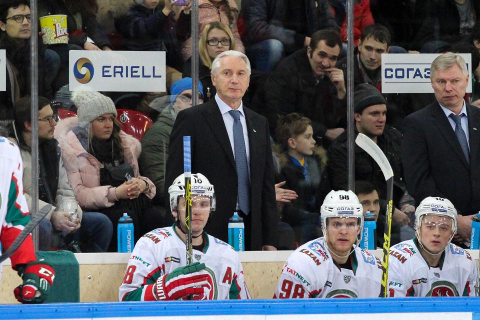«Ак Барс» уступил рижскому «Динамо» на Кубке ЛЖД