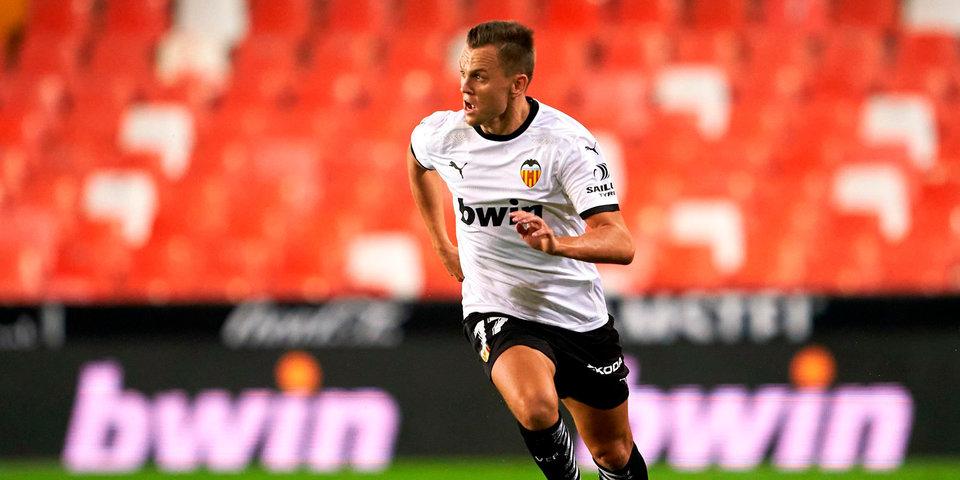 Черышев — в стартовом составе «Валенсии» на матч с «Барселоной»