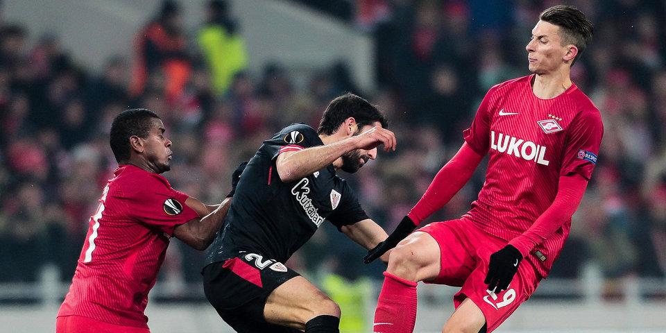 УЕФА запросил у властей Бильбао информацию по беспорядкам с фанатами «Спартака»