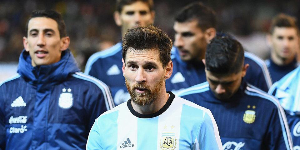 Сборная Аргентины проведет первую тренировку в Москве 6 ноября