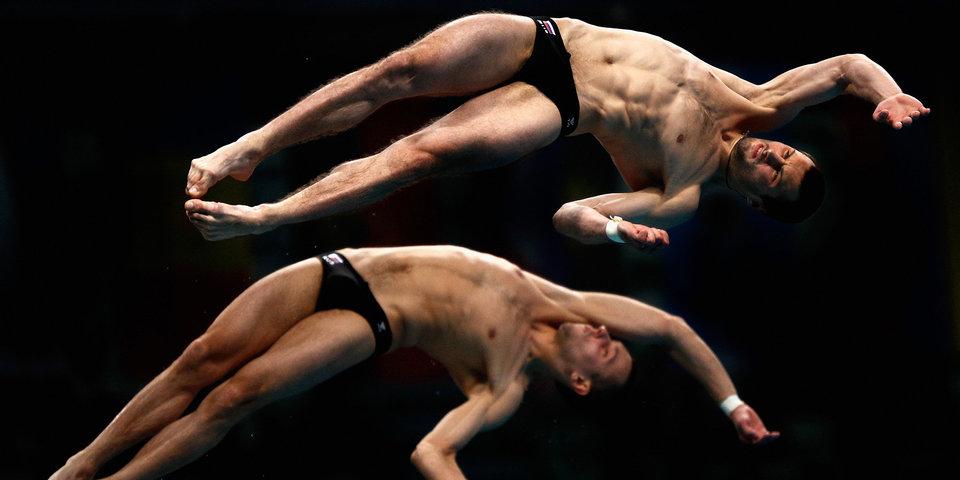 Минибаев и Бондарь стали вице-чемпионами мира в синхронных прыжках с вышки