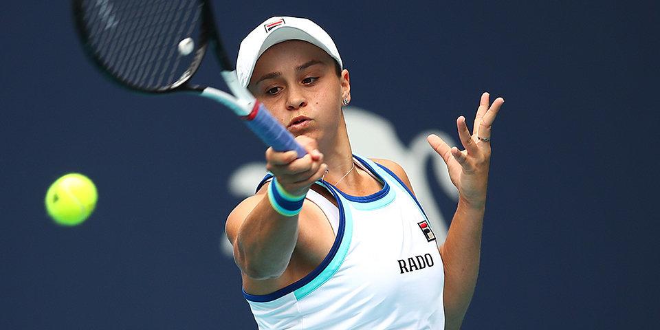 Первая ракетка мира Барти выиграла турнир в Майами
